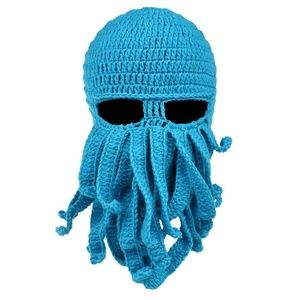 Knitted Octopus Facemask